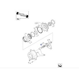 Arruela CASE 9968084